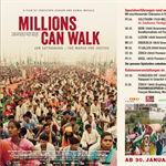Millions can walk : the movie comes out this week in Switzerland with Rajagopal
