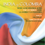 Rajagopal with International Initiatives in Colombia
