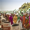 Women marching in Jan Satyagraha credit Goran Basic / Ekta Parishad